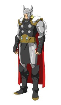 The Marvel Project : #6 Thor Odinson by huatist