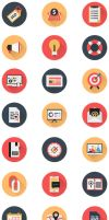 Business Icons and Web Icons Set by CURSORCH