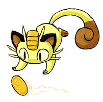Meowth WWS by the19thGinny