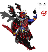 Bujin Gaim Blood Kachidoki Arms! by RamenDriver