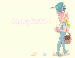 WT: Happy Easter ! by DicedPears