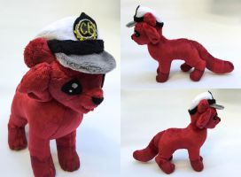 Captain Butter - Plush commission by TheRuffledRaven