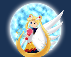 Eternal Sailor Moon by kotakkun