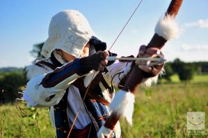 Connor Kenway: For the Kill by Winged-Mouz