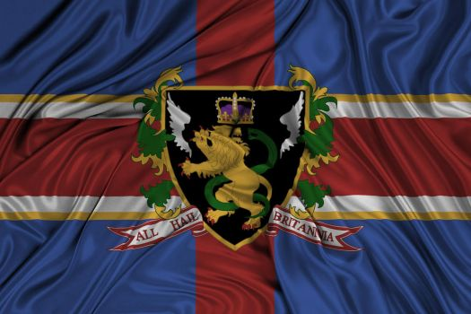 Flag of the Holy Britannian Empire [updated] by kriss80858