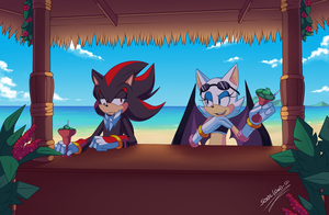 .:Tiki Chillin:. by SonicWind-01