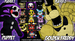 Fazbear's Fight: CHOOSE YOUR CHARACTER by itsaaudraw
