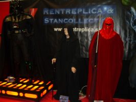 Darth Vader, Palpatine and a bodyguard by EgonEagle