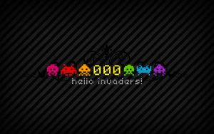 hello invaders by theluckynine