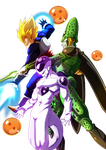 Dragon Ball Fighter Z Team High And Mighty by J-toola