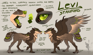 LEVI - Reference 2018 by UnravelDragfox