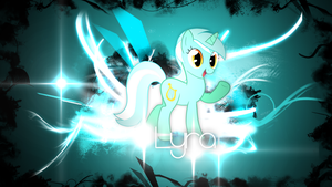 Lyra Wallpaper (Abstract) by ImLaddi