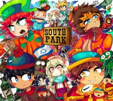Welcome to the South Park wolrd by Momo-chee