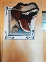 Dinosaur on the Frame by ReoAkamine