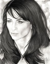 Claudia Black by porcelainroses