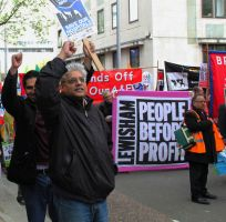 May 18th 2013 - Save the NHS: 3 by LouHartphotography