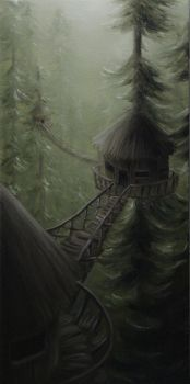 Treehouses by crazycolleeny