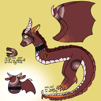 Fire Dragon Egg Hached by HaHabinger