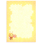 Memo Pad ''Bee'' by Mellymiew