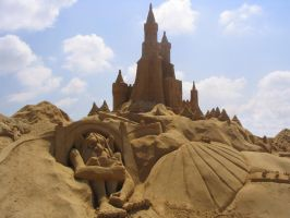 Another sand castle by Catstrosity