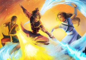 Avatar TLA: Ring of Fire by Risachantag