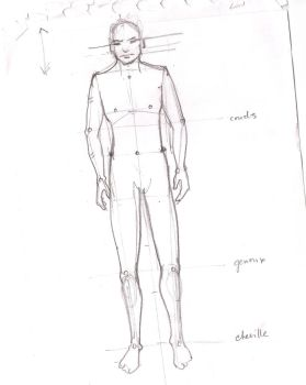 How to #2 How to draw a Body by MrCrabe
