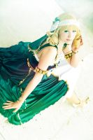 MKR: Fuu Houji - Greek Dress by flakes-sama