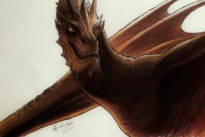 Smaug by andrewportella