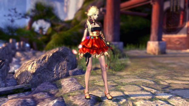 Blade and Soul - My warlock by Cynder66