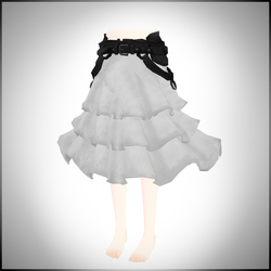 White skirt DOWNLOAD by LizzyVolti