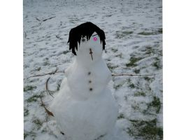 Lelouch Snowman by ClaireySmiley
