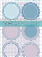Circular laces HQ Photoshop Brushes by Coby17