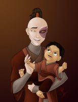 Commission: Zuko + Teiji by y2hecate