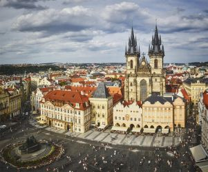 Prague Old Town Square by MarkyF