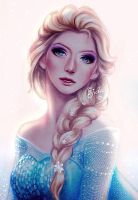 Elsa Portrait by enmoire