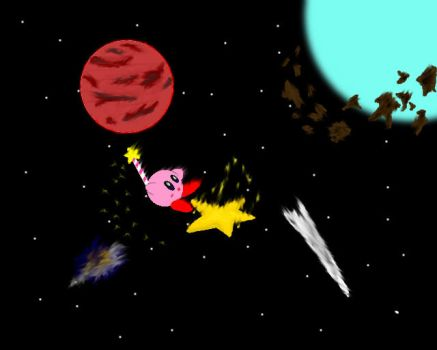 Super Star Kirby by OceanMyst