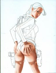 Are you looking at my bum? WIP 2 by Age-Velez