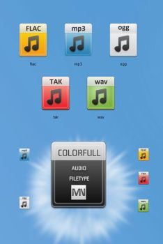 Colorfull Audio Type by blymar