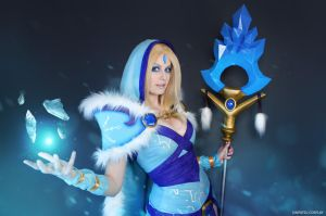 Crystal Maiden - Dota 2 by Kinpatsu-Cosplay