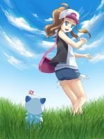 Hurry Oshawott by nanidani