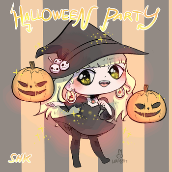 Halloween Party! by thewrabbithole