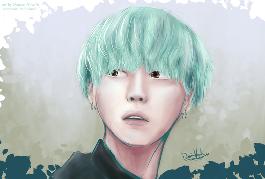 BTS - Suga by thekawaiione