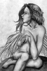 Startled Faerie by StephanieReeves