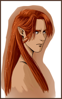 Portrait of Maedhros by MellorianJ