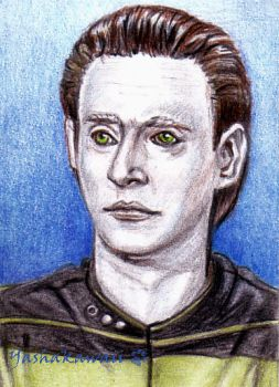 Lieutenant Commander Data by yashakawaii