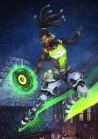 Lucio Overwatch by Morgan-chane