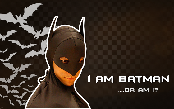 Yes, I am Batman by xtanitx