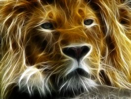 Fractalius Lion by M1MD