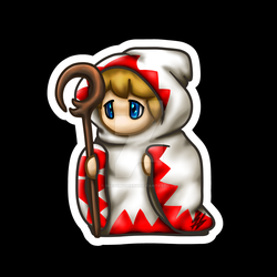 Final Fantasy - White Mage by sketchygerry