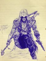 Assassin's Creed 3 - Connor Kenway by inhibitus
